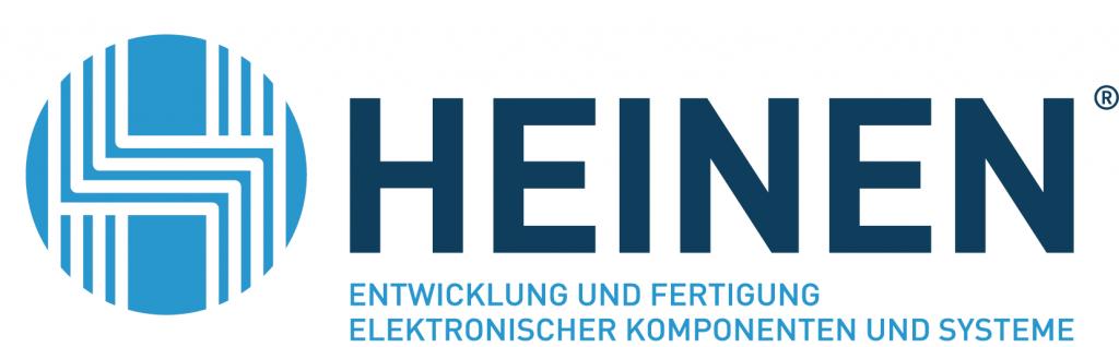 HEINEN Elektronik GmbH Logo blau