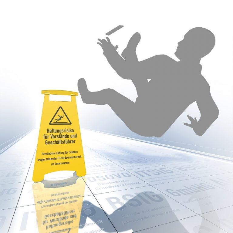 Haftungsrisiko bei ungeschützter IT-Hardware